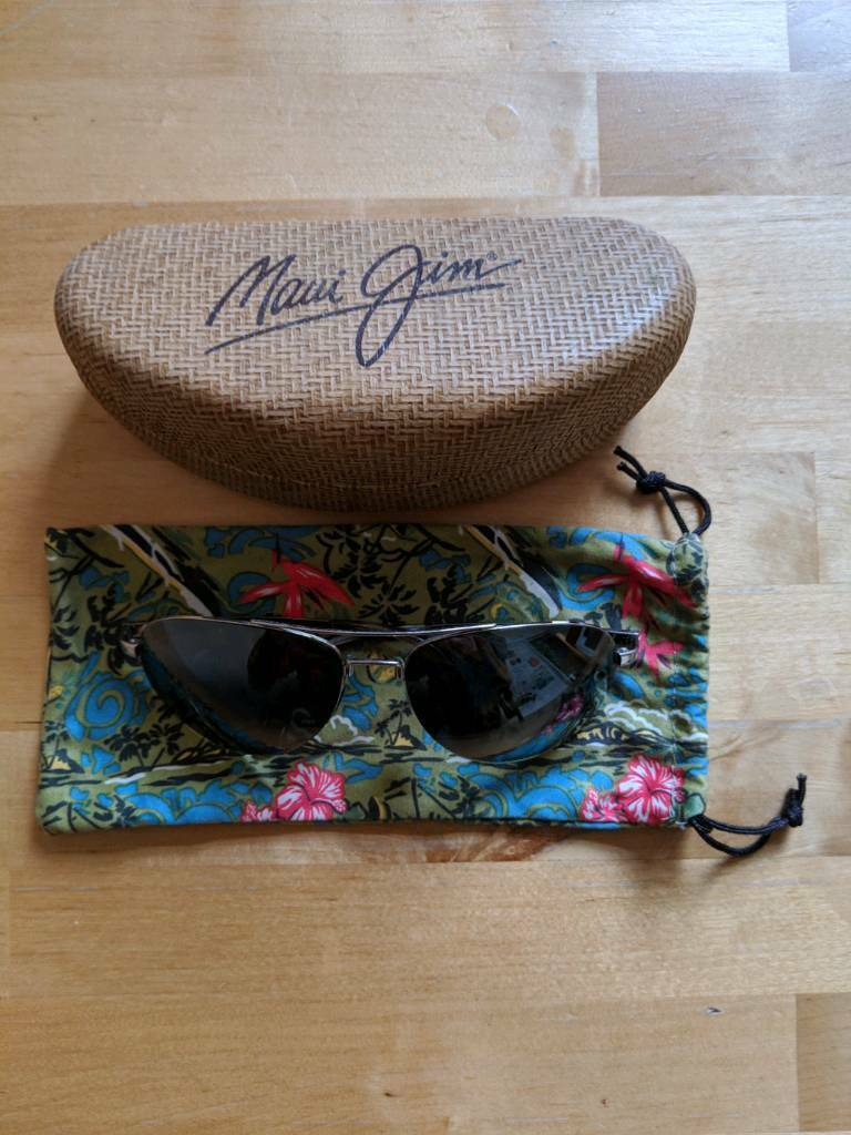 588a9e4a1bc Maui Jim Pilot Sunglasses Polarized