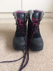 KARRIMOR LADIES/CHILDRENS SIZE 3 SNOW BOOTS- £10 ONO