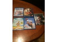 5 x blu ray movies - brand new