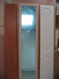 £10 EACH FITTED WARDROBE DOORS MIRROR DOOR BEDROOM MIRROR FITTED UNITS BEDROOM BUILT IN WARDROBE