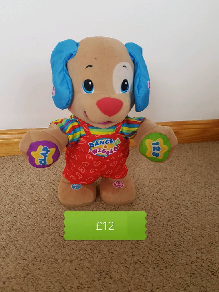 Fisher price laugh & learn puppy