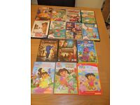 14 assorted childrens DVD movies