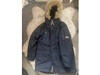 Boys navy Next coat aged 8 years