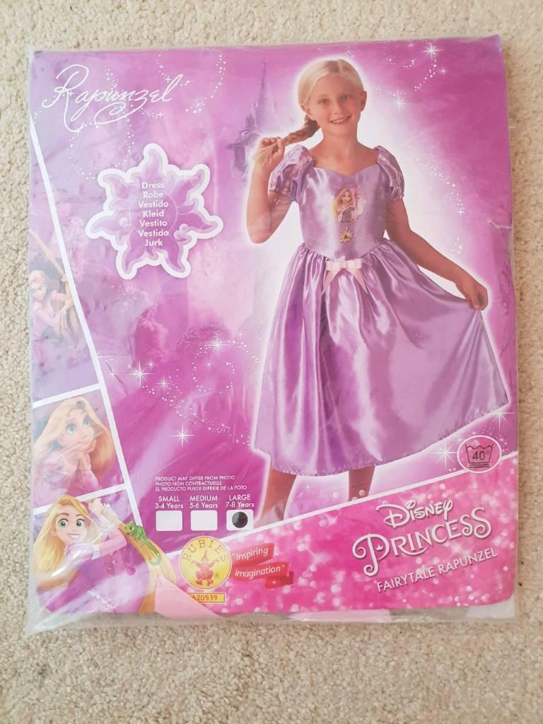 Rapunzel fancy dress 7-8 yrs | in Swindon, Wiltshire | Gumtree