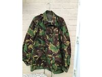Camouflage jacket/trousers/new belt & beret.