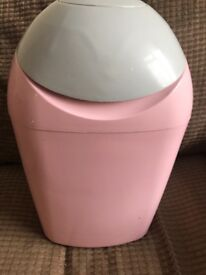 Tommee Tippee Sangenic nappy bin, pink
