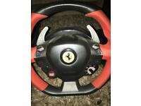 Thustmaster F458 Spider Xbox one wheel