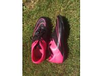 NIKE MERCURIAL VICTORY V TF TURF FOOTBALL SHOES (used)size 11