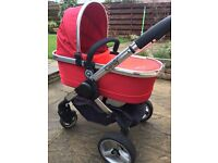 iCandy Peach Carrycot & Pushchair + Accessories