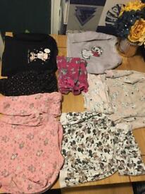 Baby girls pyjamas bundle age 12-18 months