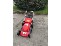 Grizzly electric lawnmower