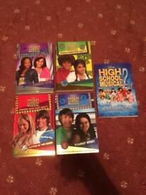 5 high school musical books