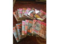 Huge collection of fashion magazines
