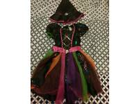 Girls Witch Dress Age 7 to 8