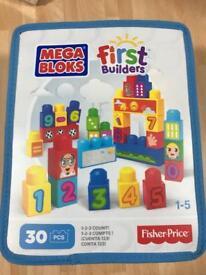 Fisher Price mega blocks