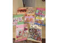 8x Cross Stitch Books Job Lot