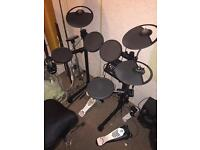 Yamaha dtx450k electric drum kit