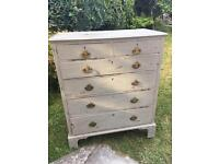 Stunning 19th C chest of drawers