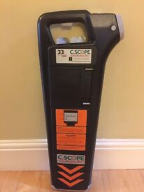 C.SCOPE CAT 33 CSCAT-33 Cable Avoidance Tool 33KHZ CSCOPE