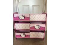 Hello Kitty storage unit
