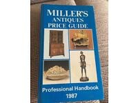 Millers antiques price guide professional handbook 1987
