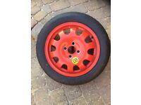 Spare wheel £15.00