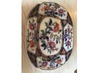 Antique large dish/plate