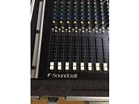 Soundcraft Spirit M8 Professional Sound Mixer