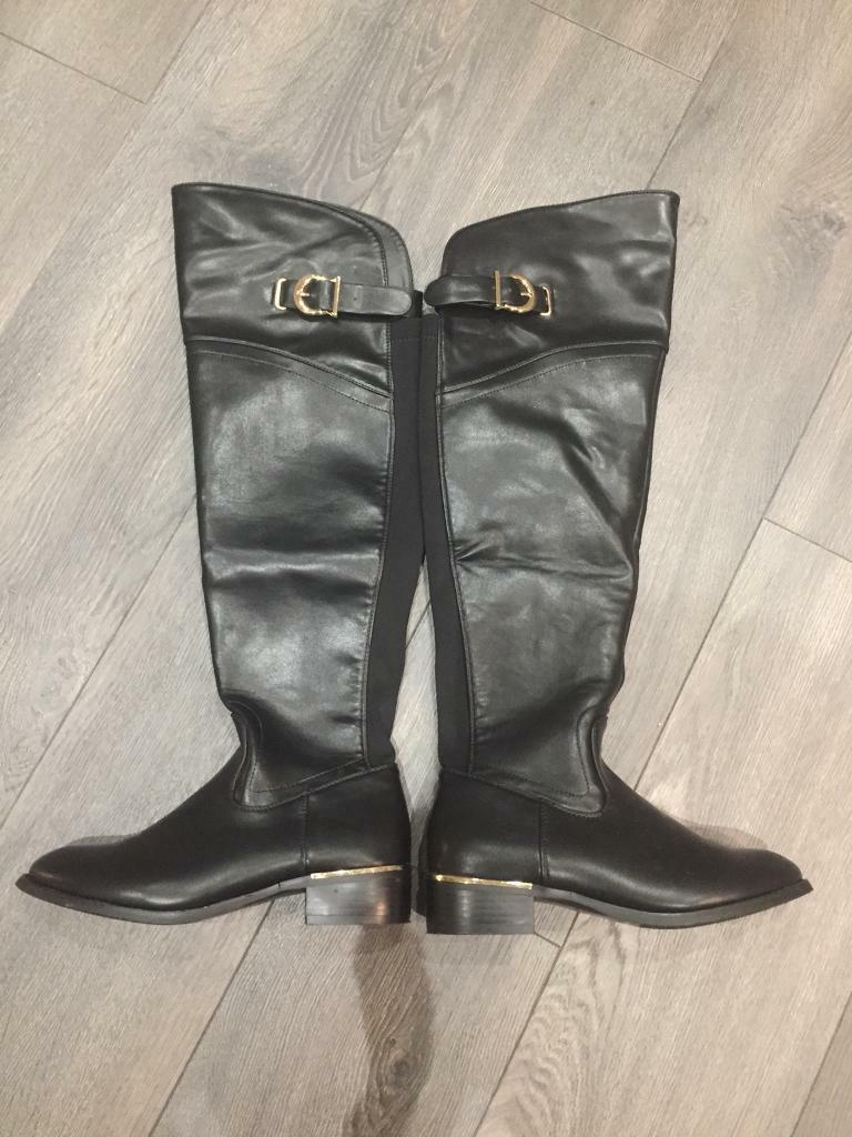 Over the knee boots size 4
