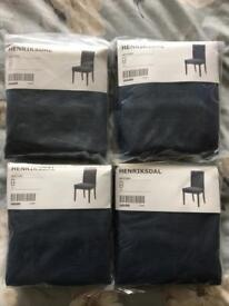 Ikea Henriksdal Chair Covers x 4