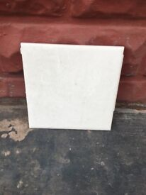 """Wall tiles pale pink 6"""" x6"""" used so need dressing"""
