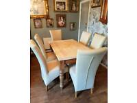 Country style Dining table and Chairs