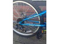 Mountain bike boy/girls good condition selling only got bigger bike
