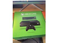 Xbox One Console + 1 Controller + 9 Games