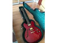 Westfield Cherry Red 6 String Electric Guitar for sale