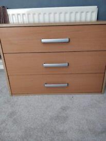 3 set of drawers