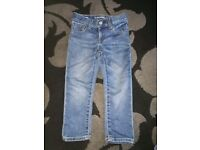 Boys jeans age 3 from gap.