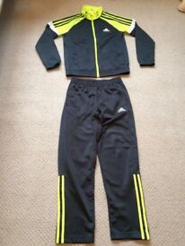 Child's ADIDAS Tracksuit ... Size 9 - 10 Years ... Hardly Worn ...