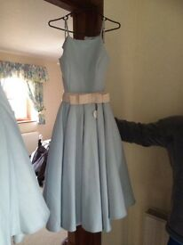 Chichi London prom dress duck egg blue