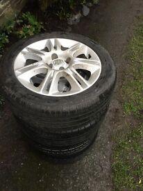 4 Vauxhall corsa tyres