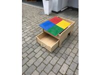 LEGO storage / play table