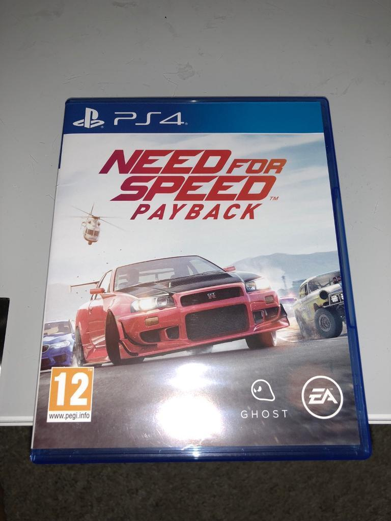 NEED FOR SPEED PAYBACK PS4   in Leicester, Leicestershire   Gumtree