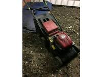 Mount field lawnmower
