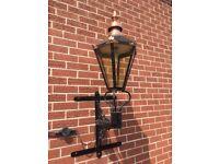 Old Copper Outside Lantern