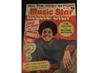 1970s Music Star Magazines