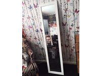 white standing mirror need gone asap