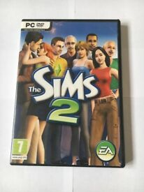 6 Sims 2 Computer Games, base game, including 4 expansion packs and 1 stuff pack