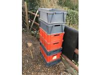 Storage boxes strong ex bt