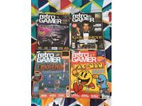 Retro Gamer Magazines (4 issues)