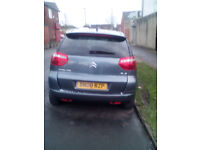 citreon c4 piccaso auto 1.6 diesel vtr+ full years mot 73000 miles in grey £1500 ono
